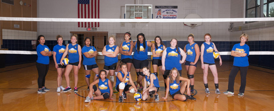 St. Mary Volleyball 8th Grade
